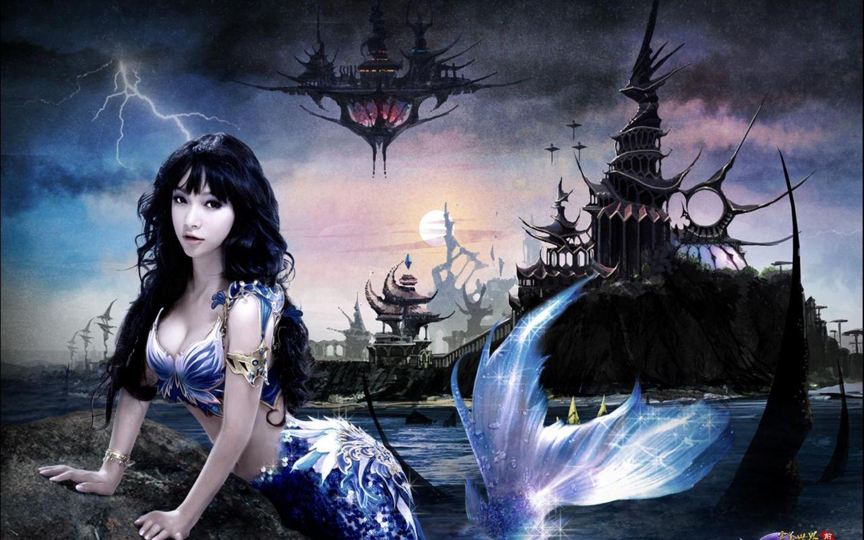 Fantasy Mermaids Fantasy Mermaid Wallpaper/Background
