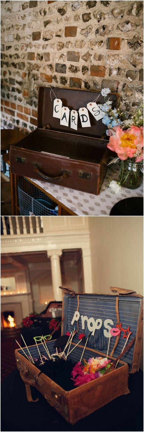 Top 20 Vintage Suitcase Wedding Decor Ideas #vintagesuitcasewedding Vintage suitcase wedding decor ideas #weddings #weddingdecor #weddingideas #weddinginspiration #vintageweddings #vintagesuitcasewedding