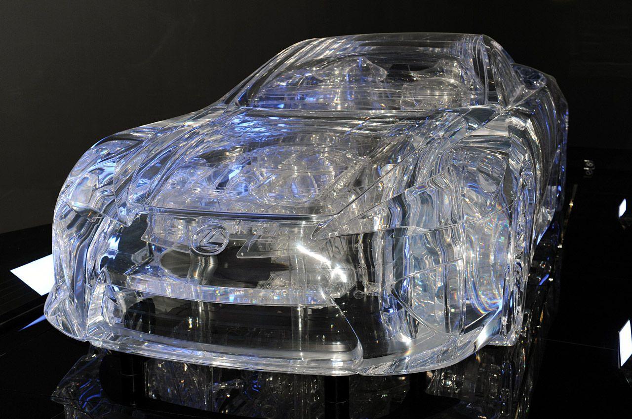 Translucent Lexus LFA
