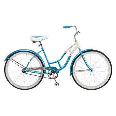 Schwinn Womens Legacy 26 Cruiser Bike Yellow Cruiser Bicycle Schwinn Blue And White