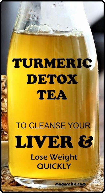 Powerful Turmeric Tea To Cleanse Your Liver And Make You Lose Weight Quickly