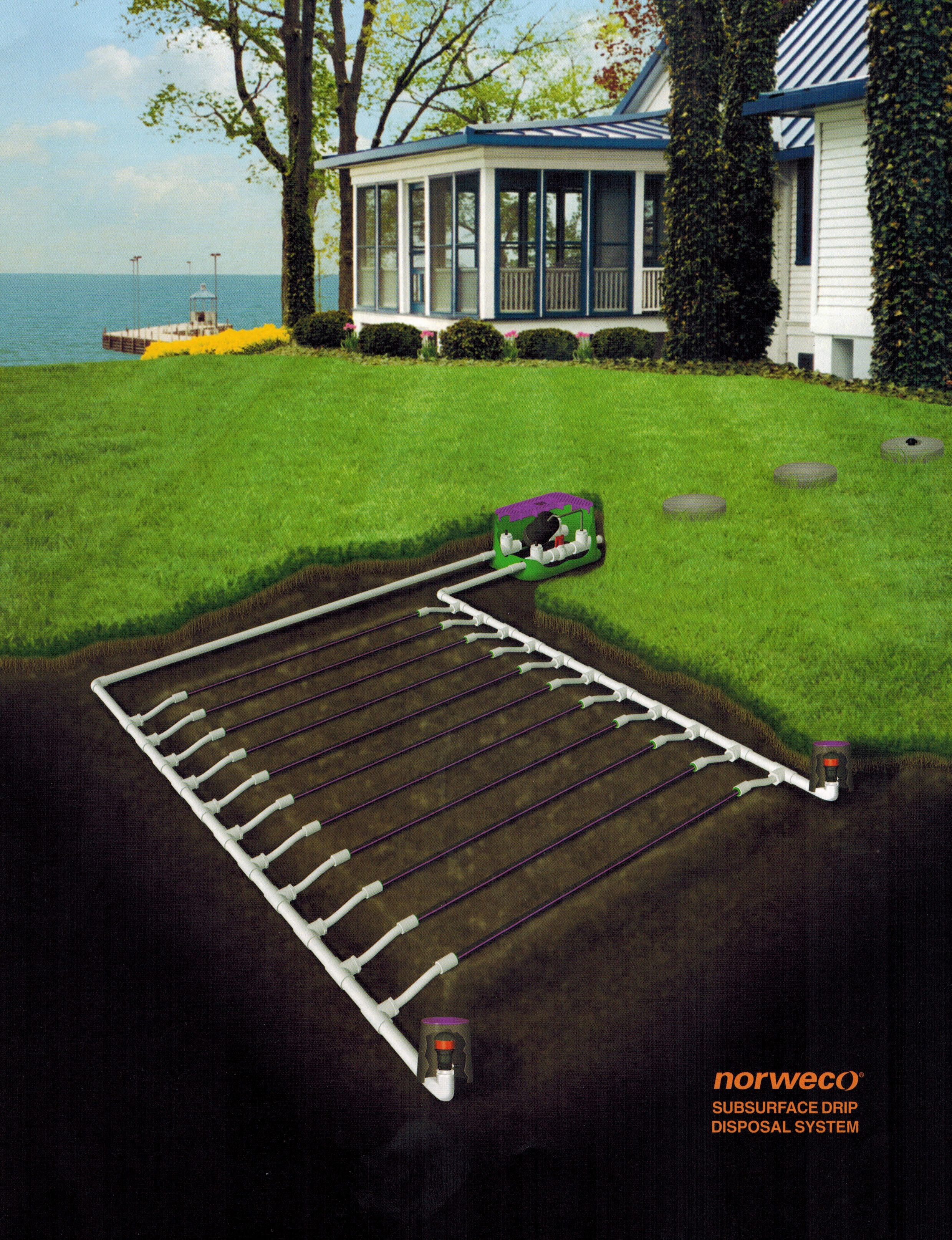Norweco Subsurface Drip Disposal System Garden Amp Landscape