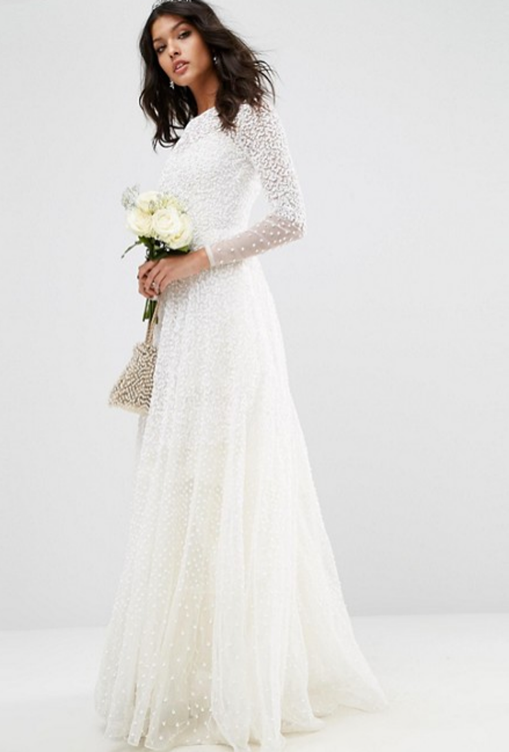 11 Wedding Dresses With Gorgeous Sleeves | Wedding dress, Queens and ...