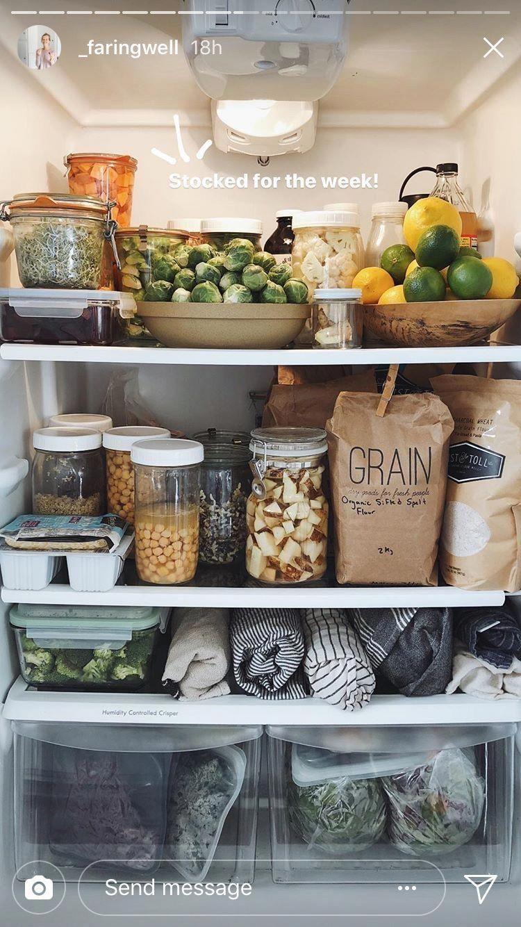 fridge organization zero waste kitchen healthy fridge zero waste living on kitchen organization zero waste id=63694