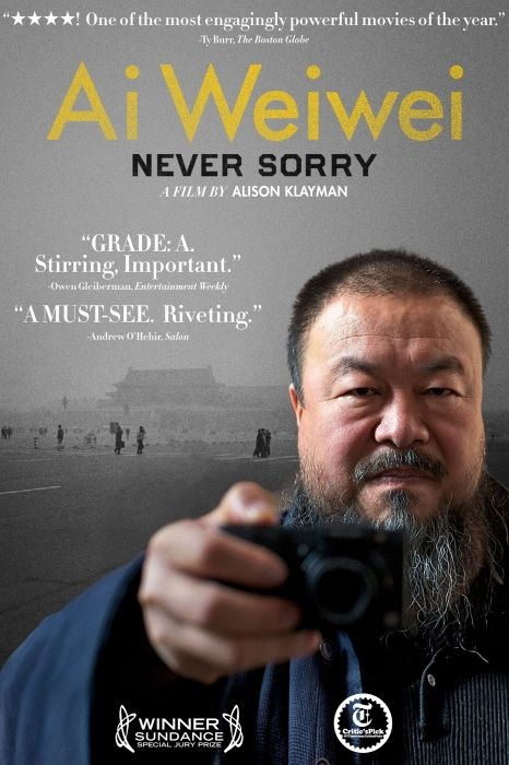 Ai Weiwei Never Sorry But It Is Such A Tragedy If You Live Your Life In Fear Thats Worse Than Actually Losing Your Freedom