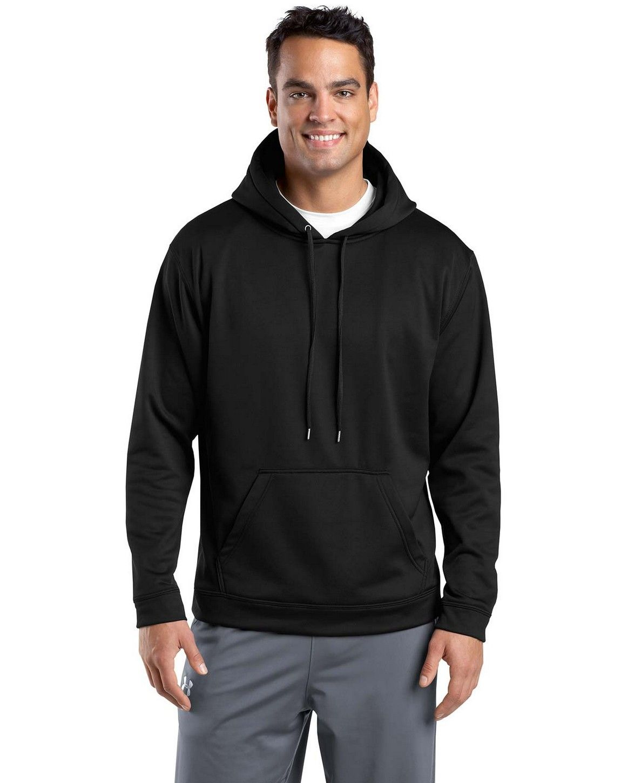 SportTek F244 SportWick Fleece Hooded Pullover by Port