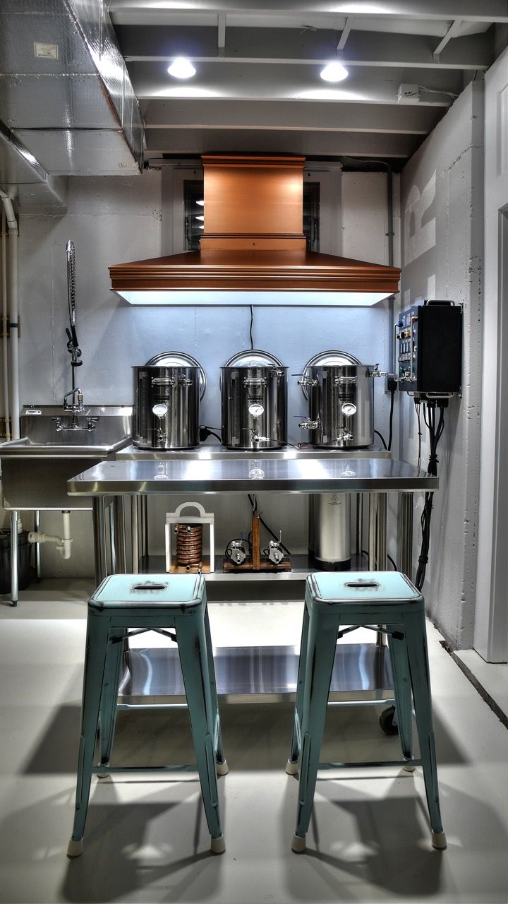 Best Kitchen Gallery: Pin By Bryon Mulligan On Homebrew Set Up Pinterest Homebrewing of Coolest Homebrew Set Up on rachelxblog.com