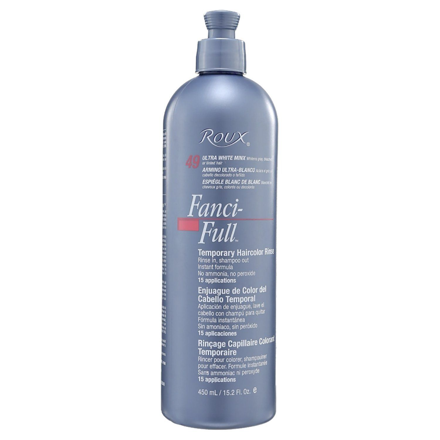 Roux Fanci Full Temporary Color Rinse Ultra White Read More