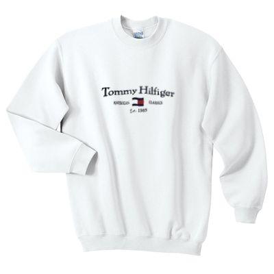 Tommy Hilfiger Vintage Sweatshirt Ai26n Vintage Sweatshirt Tommy Hilfiger Vintage Vintage Hoodies