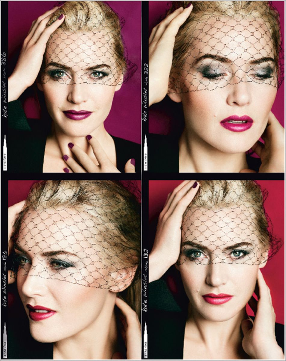 Kate Winslet - Lancome Fall 2013 LAbsolu Desir Makeup Collection  #MarioTestino   | Hair #NicolaClarke | Make-Up #LisaEldridge