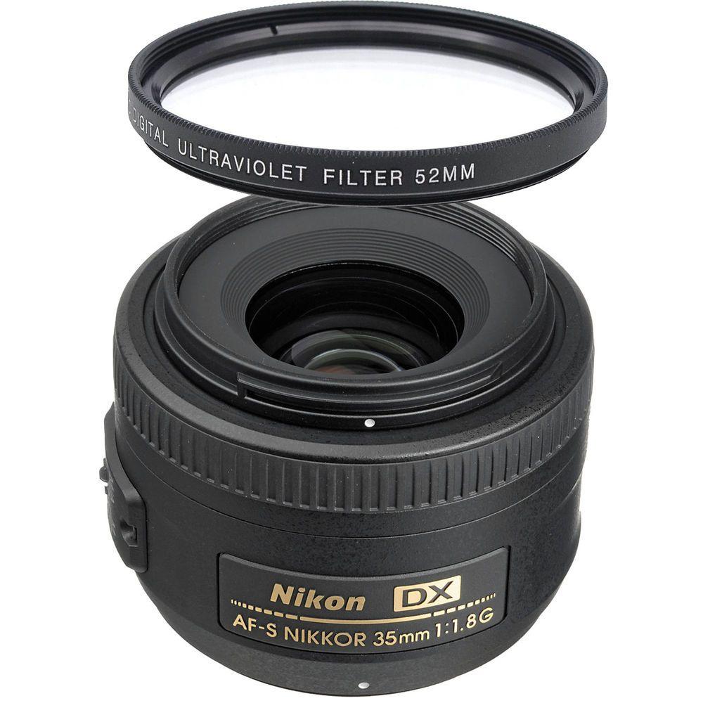 Nikon Af S Nikkor 35mm F 1 8g Dx Wide Angle Lens Uv Filter Wide Angle Lens Wide Angle Nikon