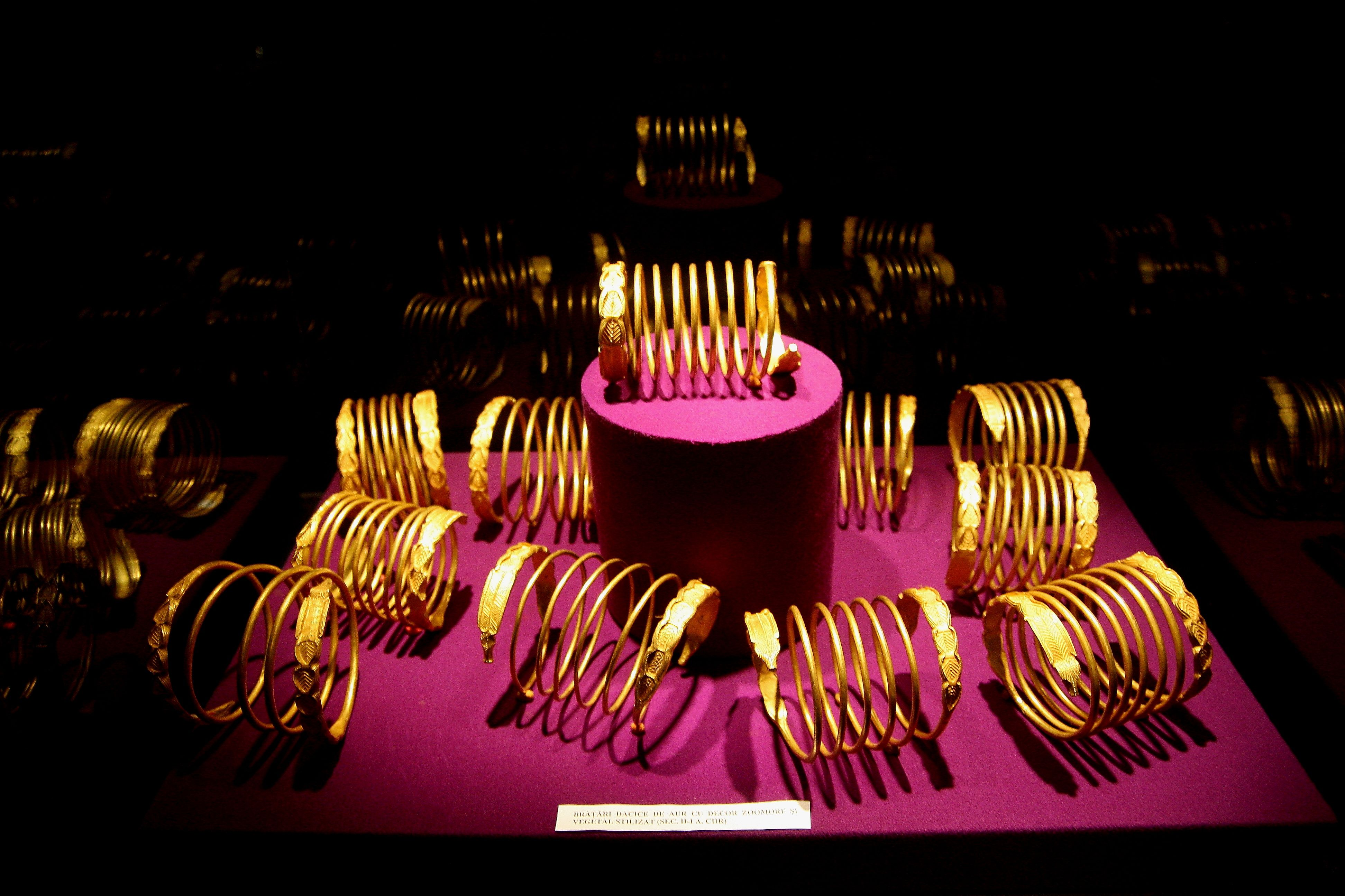 Dacian Bracelets National History Museum Bucharest Hush Hush Romania Travel Planner