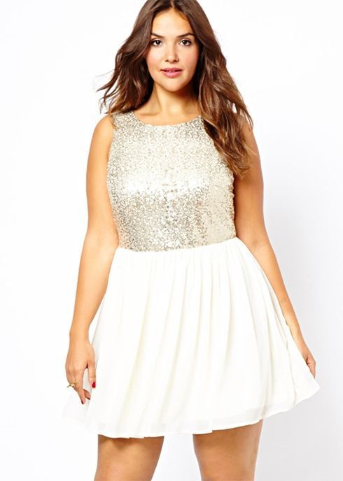 5 ways to wear a plus size sequin top that you will love | Sequin ...