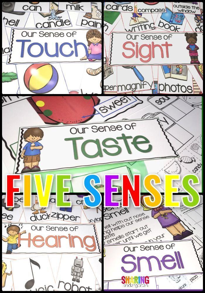 Five Senses | KindergartenKlub.com | Pinterest