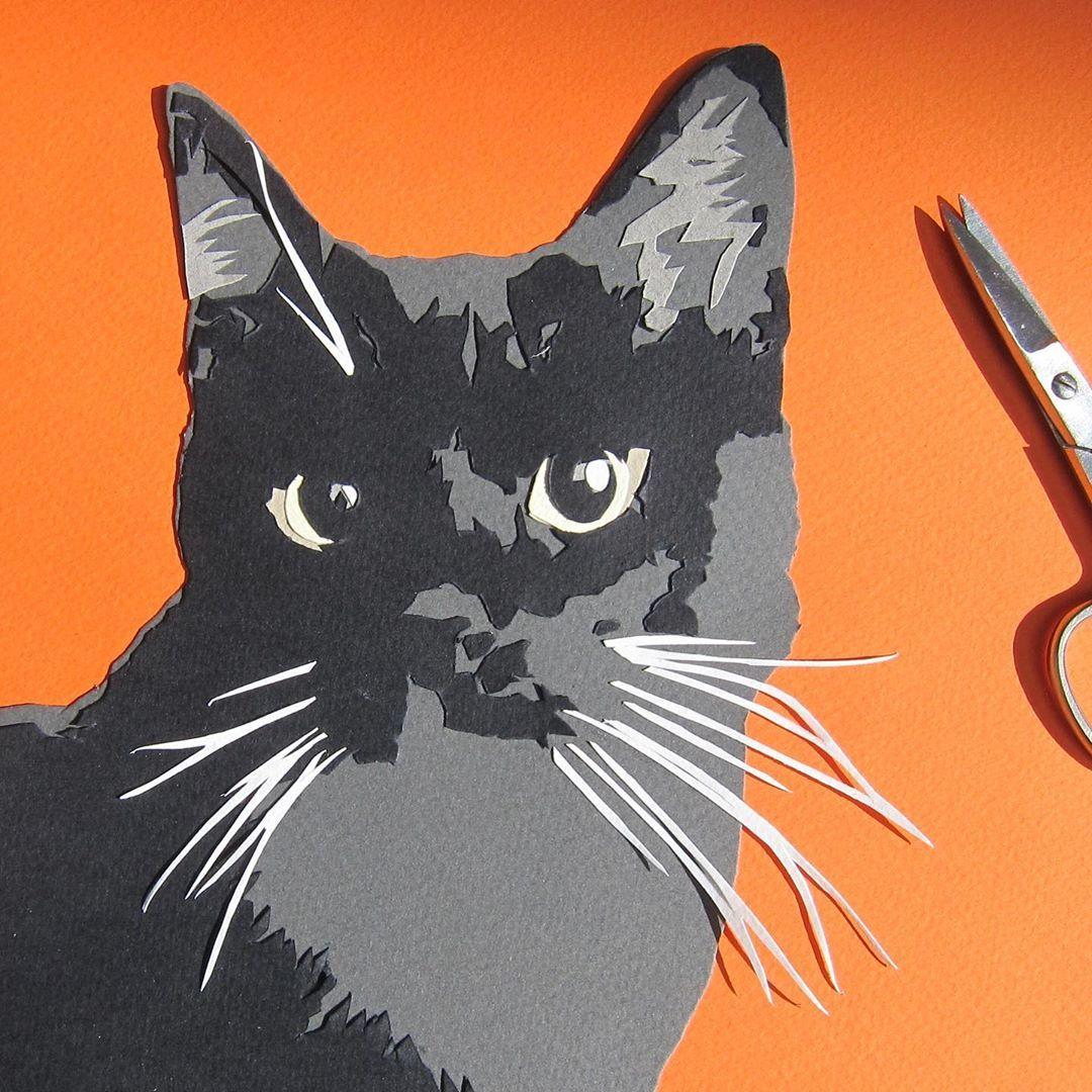 Happy National Black Cat Day. . . . . nationalblackcatday