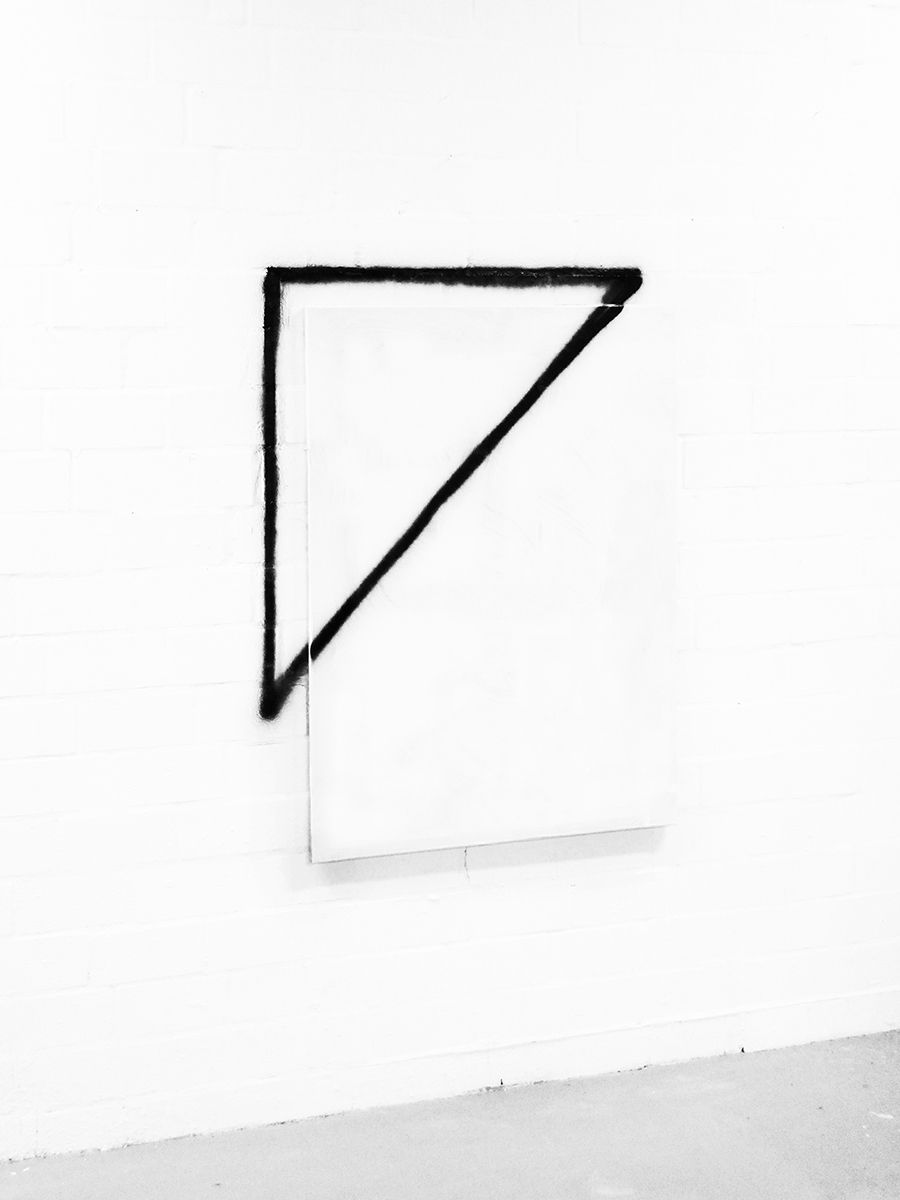 """"""" michael weißköppel. triangle. from the fast suprematism series """""""