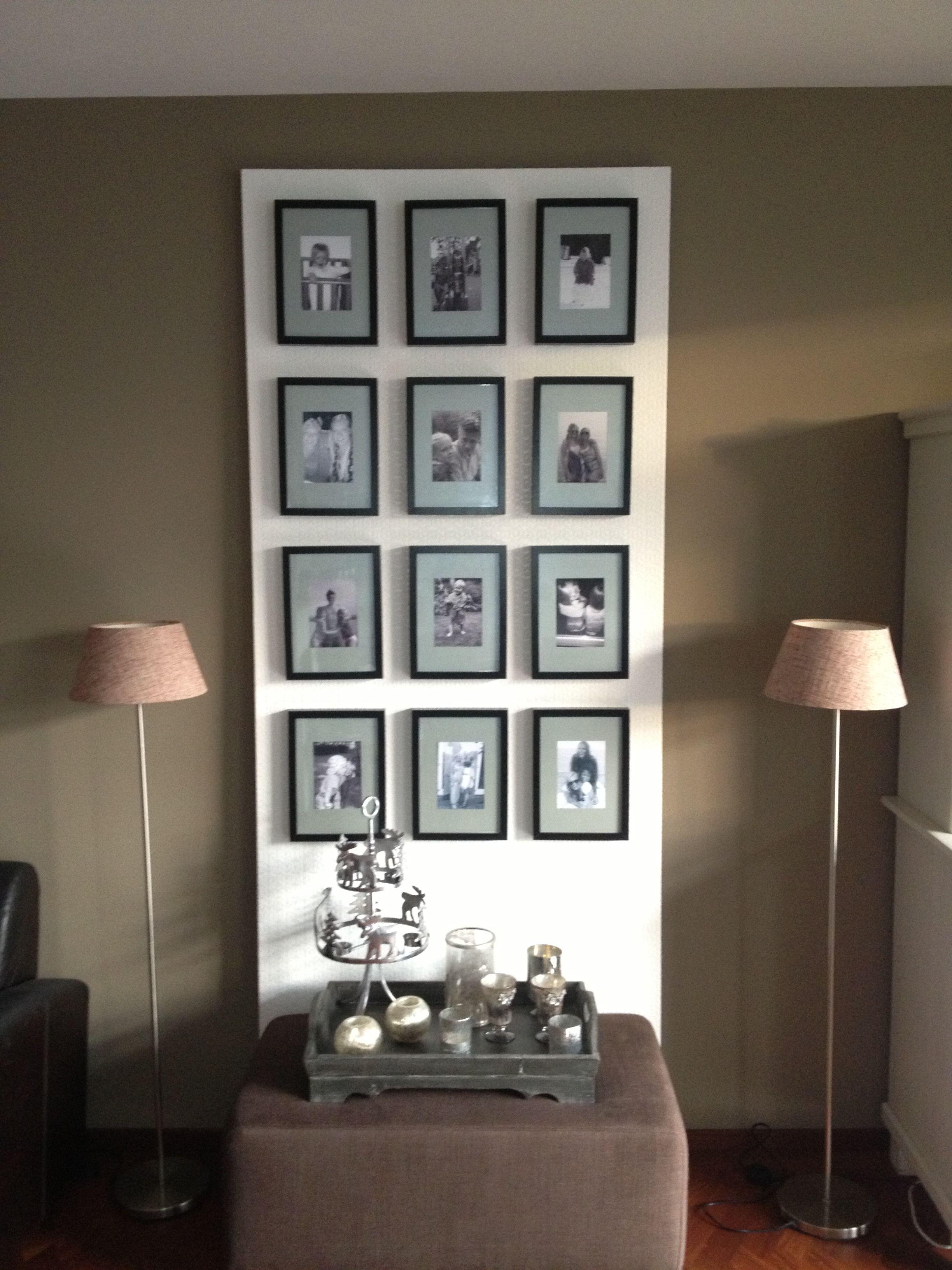 Plaat Hardboard Behang En Fotolijstjes De Passepartouts