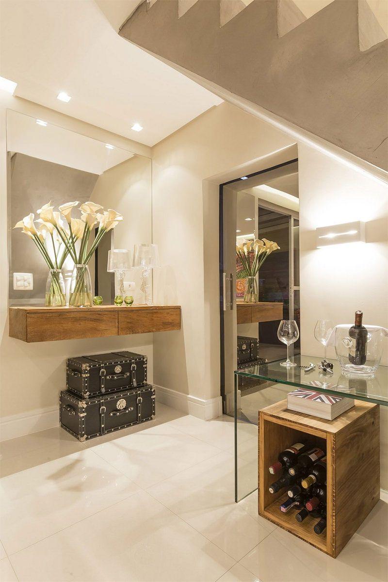 7 Coisas Que Toda Casa Bem Decorada Tem Estilos Naturais De  -> Modelo De Sala Pequenas Com Espelho E Aparador