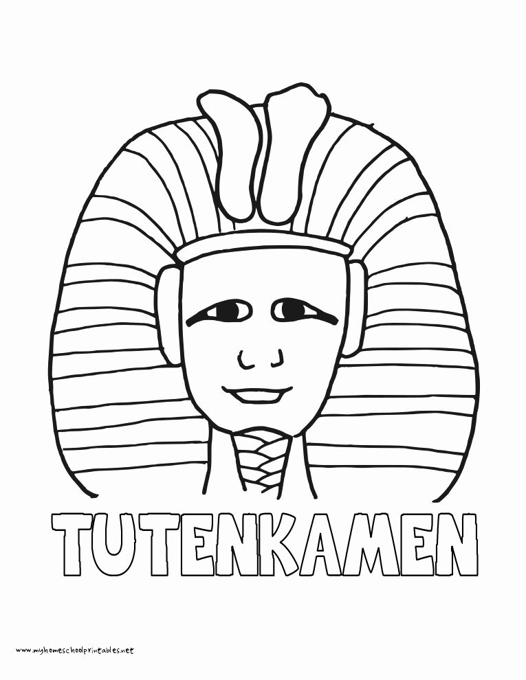 24 King Tut Coloring Page Coloring Pages