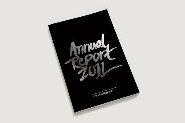 Contoh Desain Gambar Buku Laporan Tahunan Ppr Annual Report
