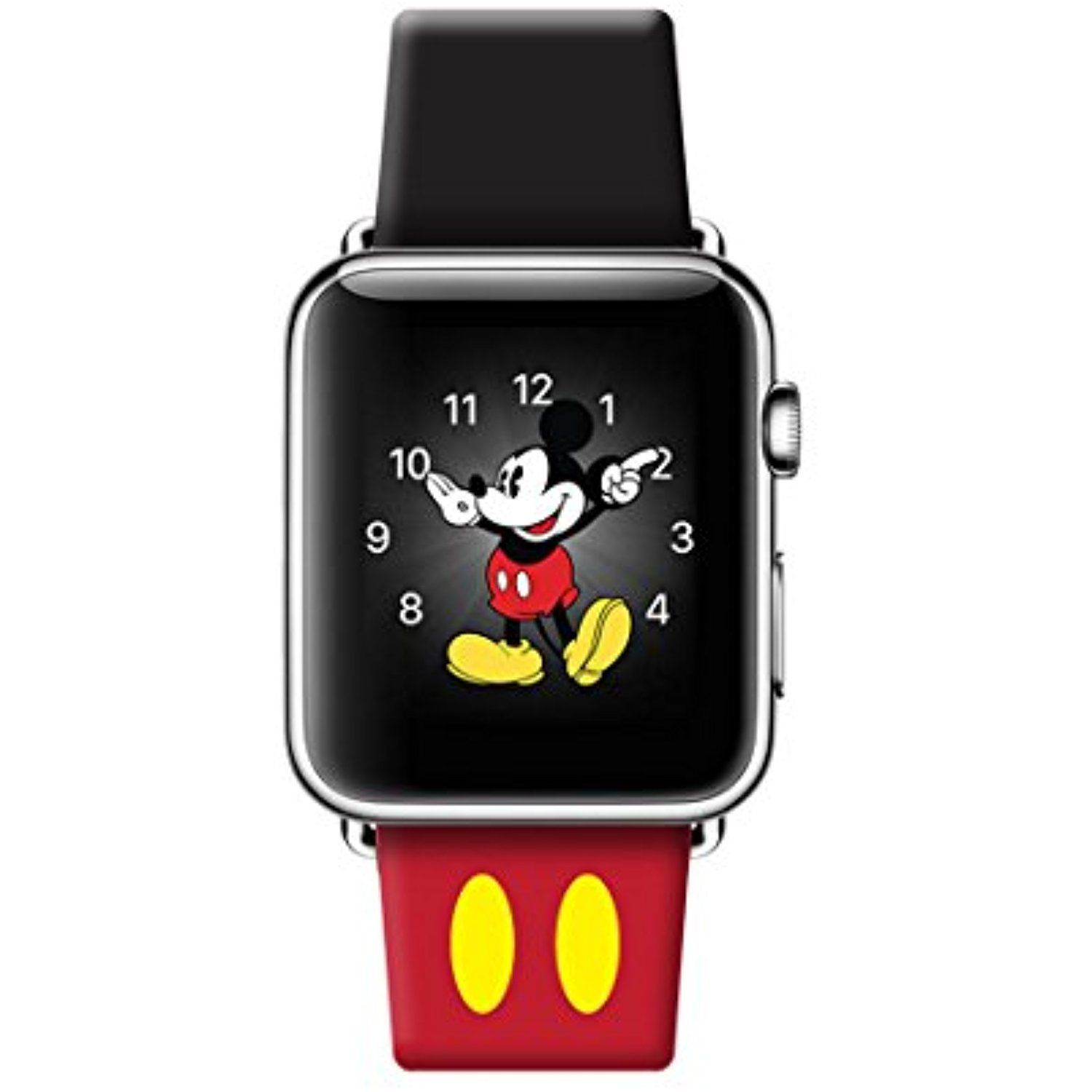 05de7abfc Apple Watch Band 38mm Leather iwatch Disney mickey mouse ears strap for Apple  Watch Series 3 Series 2 Series 1 Sport and Edition