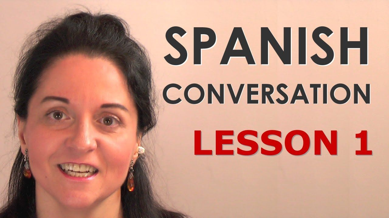 Practice your Spanish conversation skills with this free lesson.