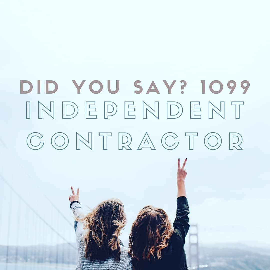 Being An Independent Contractor Means You Will Get Full