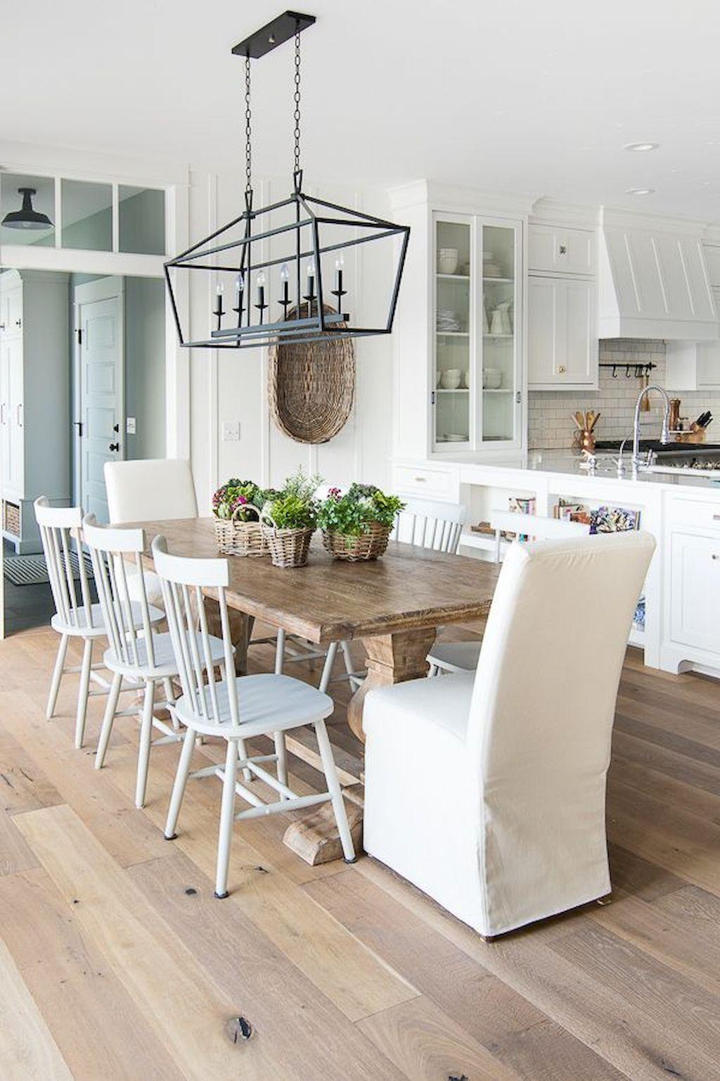 cool 56 Cozy Modern Farmhouse Dining Room