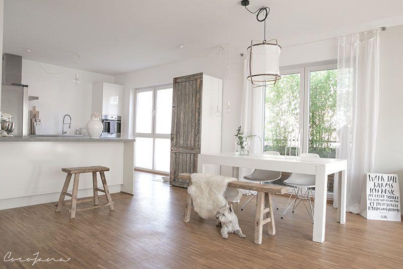 Satteldachhaus mit Loft-Feeling Innen Großzügigkeit wie im Loft - offene küche wohnzimmer