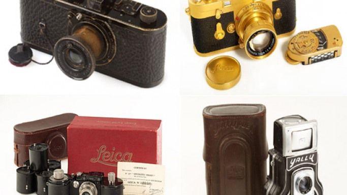Vintage Leica cameras to go on auction at WestLicht