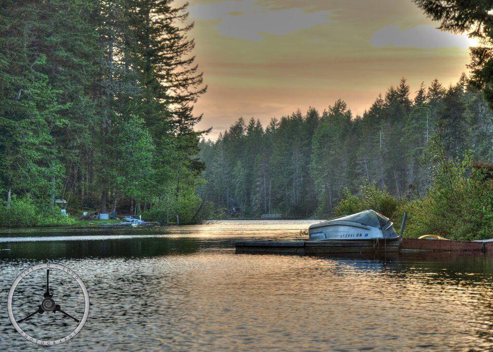 Collins Lake sunset   near Belfair, Wa  Photo Credit- Jeff