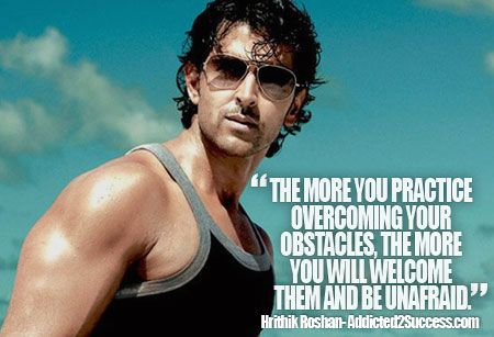 Hrithik Roshan Inspirational Picture Quote | Picture ...