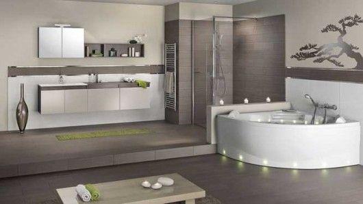 La elegancia redondeada en el baño 1 Bañera, Elegancia y Baño