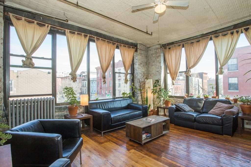 Check Out This Awesome Listing On Airbnb Bedford Loft Williamsburg Prime Apartments For Rent In Brooklyn Home Vacation Home Holiday Home