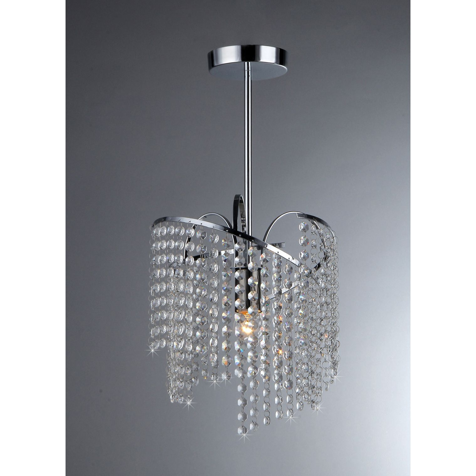 Warehouse of Tiffany Ann 1 light Crystal Chandelier Ann Crystal
