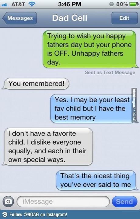 Fathers day text conversation funny text messages pinterest fathers day text conversation m4hsunfo