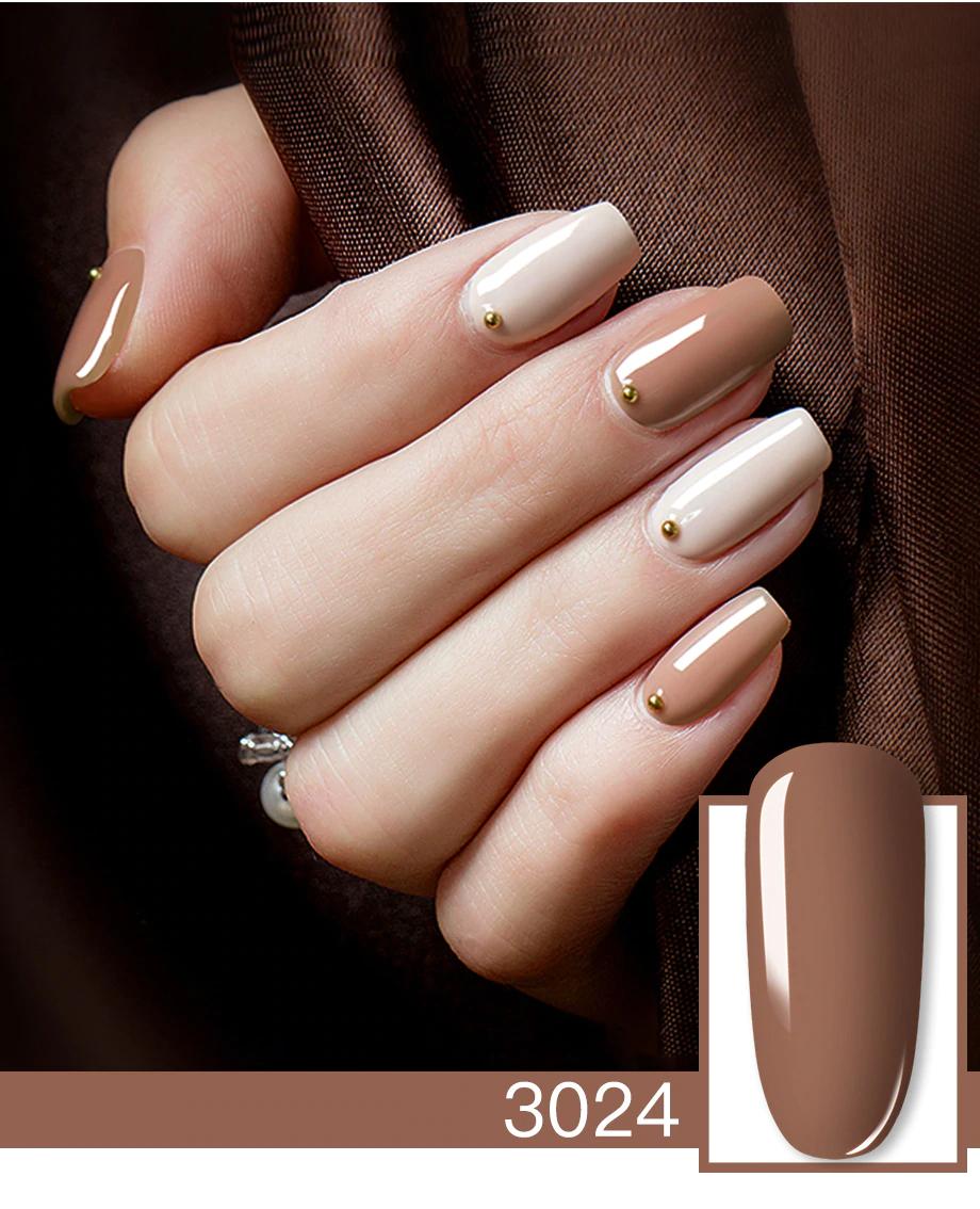 Hybrid nail polish from Pierre Rene. UV / LED nail polish