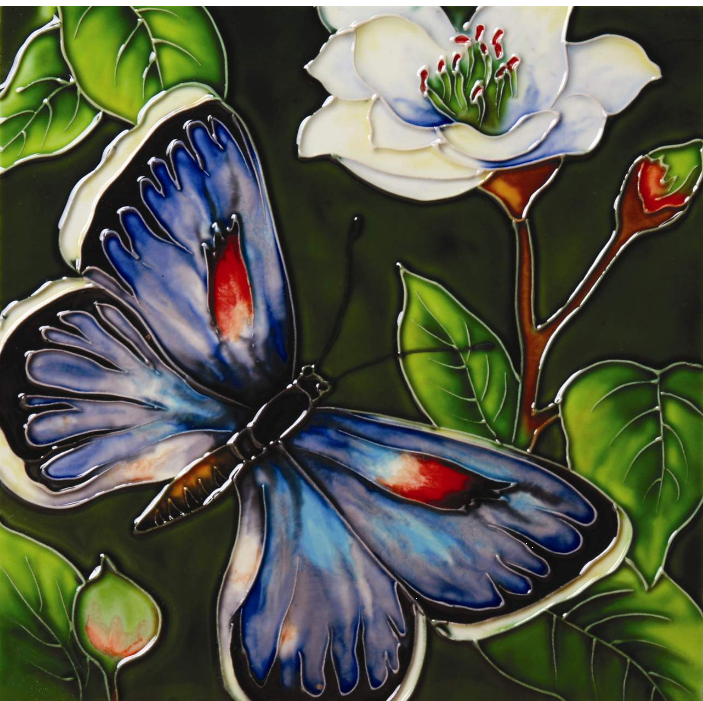 Natures Beauty, Butterflies : 20th Century Glass Pottery Collectibles