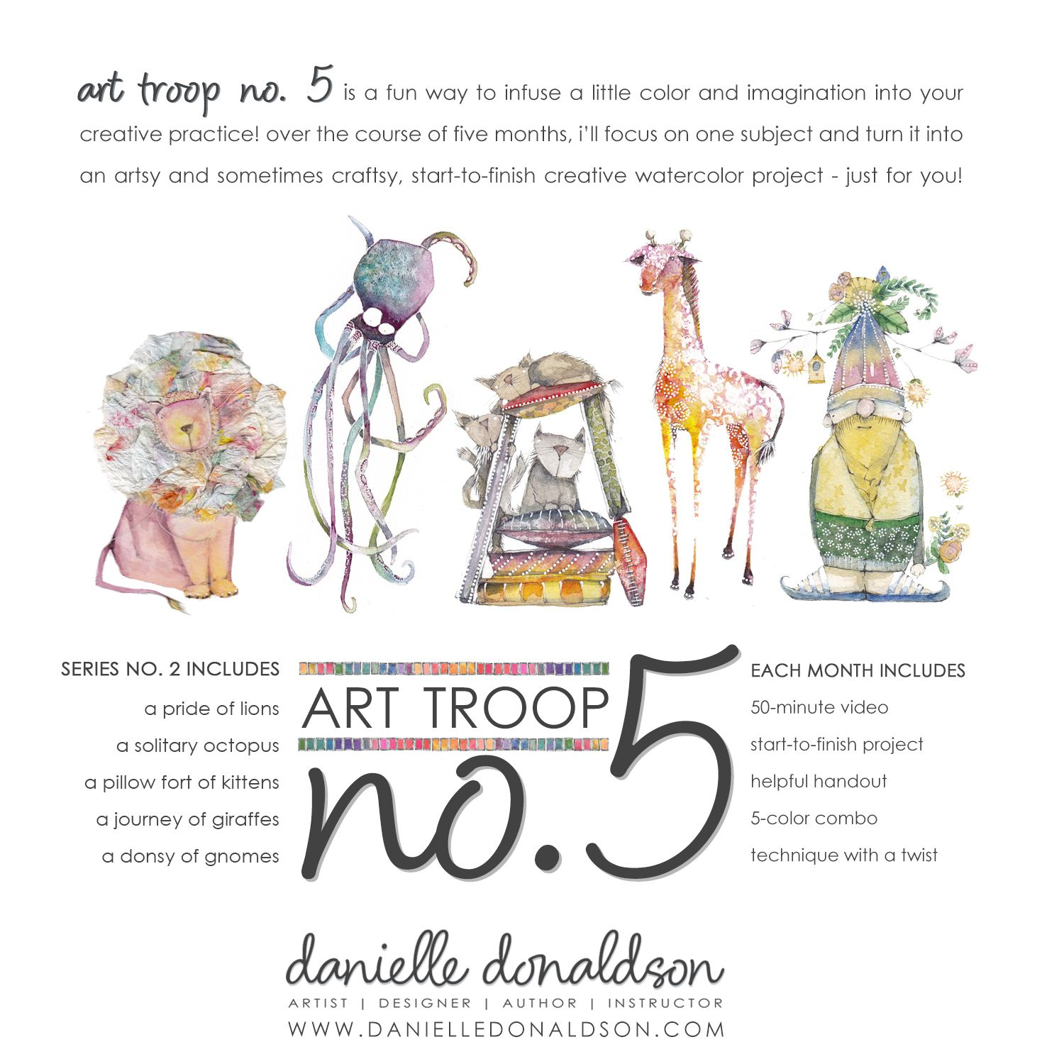 Art Troop No. 5 | Series 2 Workshop