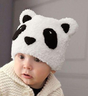 40c1387f94e5 Modèle bonnet panda layette phildouce   partner PHILDAR Modèle 11 du  catalogue 99 (layette et pitchoun automne hiver)