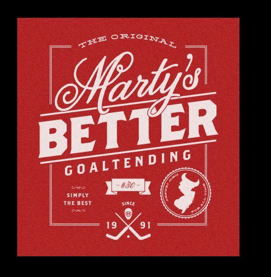Martin Brodeur Marty S Better New Jersey Devils T Shirt New