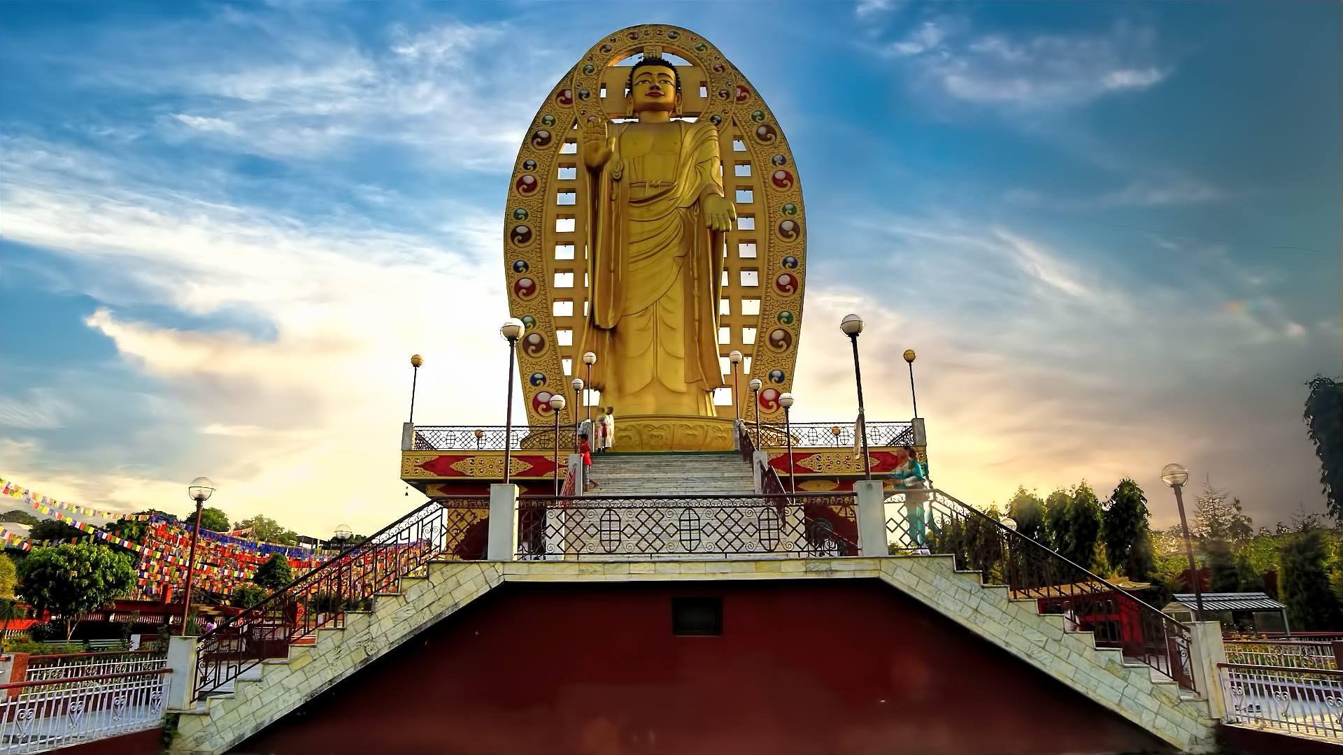 ITAP of Tibetan Buddhist Temple Dehradun (India) #photography via /r/itookapicture by tfpl_filmmaker
