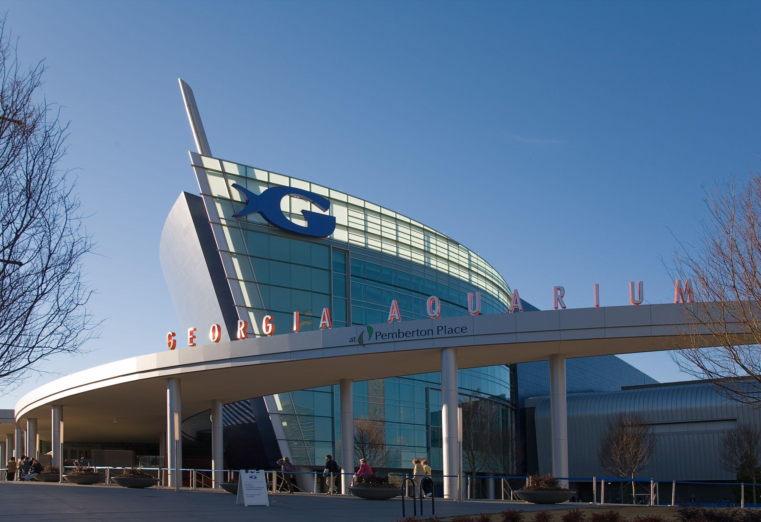 Georgia Aquarium, the world's largest aquarium, Atlanta ...