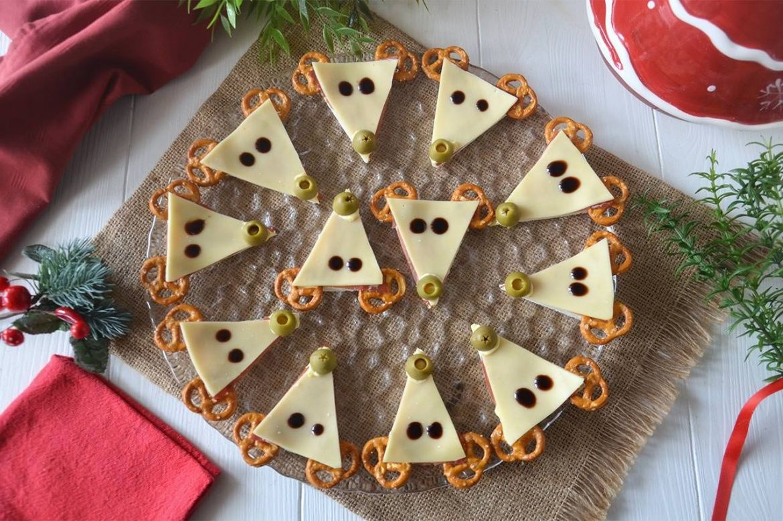 Antipasti Di Natale Per Bambini.Tartine Renna Ricetta Natale Christmas Appetizers Food E Recipes