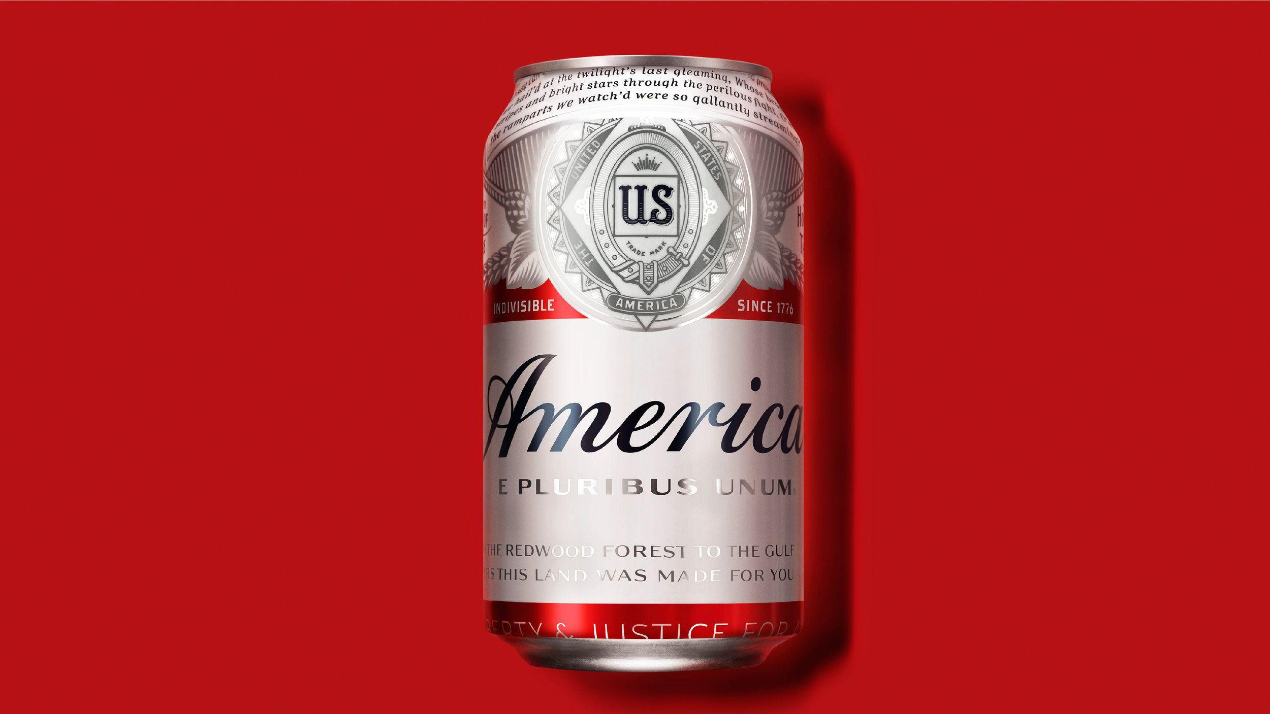 The Dieline Awards 2017 America Beer (Budweiser) Beer
