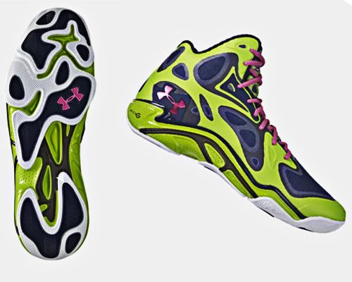 Stephen Curry Under Armour Green