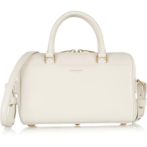 9eb898e0bf5 Saint Laurent Classic Duffle mini leather shoulder bag (383.030 HUF) ❤  liked on Polyvore