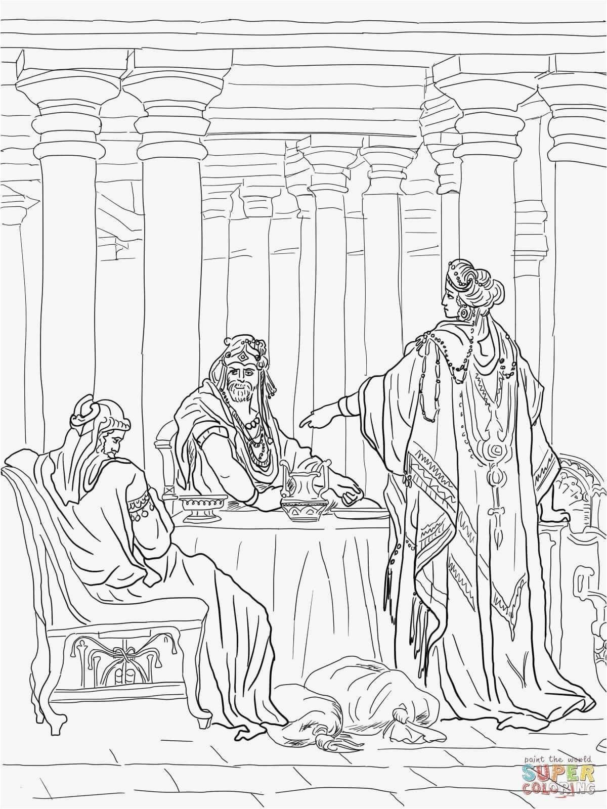 Queen Esther Coloring Pages Inspirational Coloring Pages ...