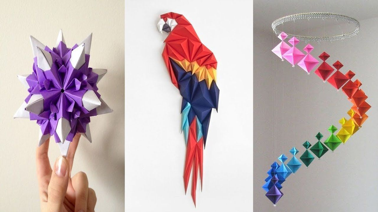 10 DIY Paper Crafts - Easy Crafts Ideas at Home - Paper crafts ...
