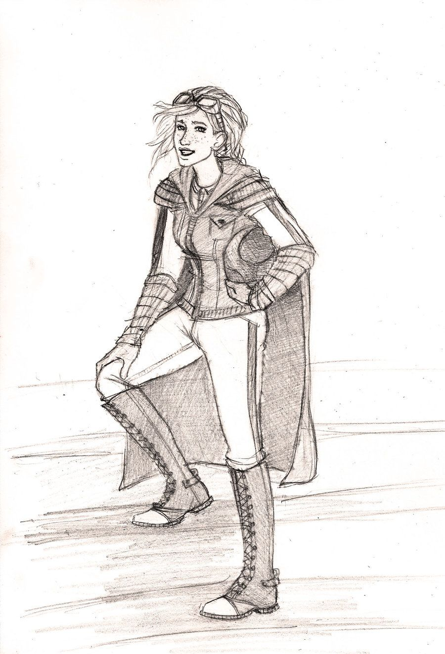 Holyhead Harpies: Ginny Weasley by Catching-Smoke.deviantart.com on @deviantART